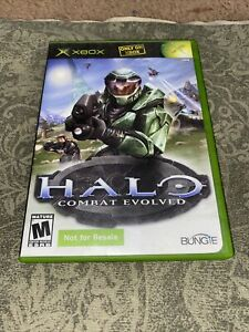 Halo: Combat Evolved Xbox NOT FOR RESALE variant