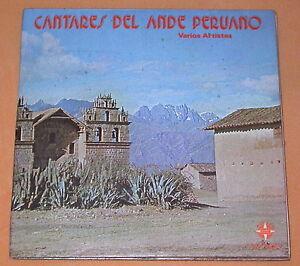 Cantares-Del-Ande-Peruano-2x-034-7-play-33-rpm-SONO-RADIO-G-P-50001-Peru-EX-M