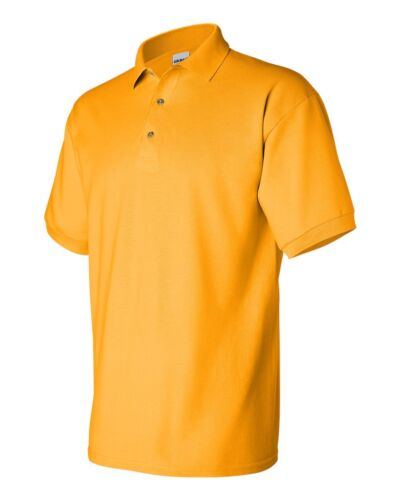 PEACHES PICK GILDAN 3800 Mens Size S-5XL 100/% COTTON Pique Knit Polo Sport Shirt