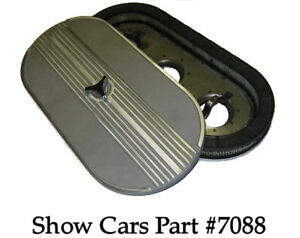 348 409 CHEVROLET IMPALA  BEL AIR CHROME TIMING CHAIN COVER 58,59,60,61,62.63,64