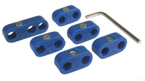 BEETLE CABRIO ** SA ** separatori per HT conduce in blu per Lead 7mm-AC998205