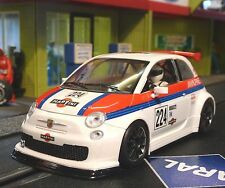 NSR FIAT Abarth 500 Team MARTINI in 1:32 auch für Carrera Evolution    800033SW