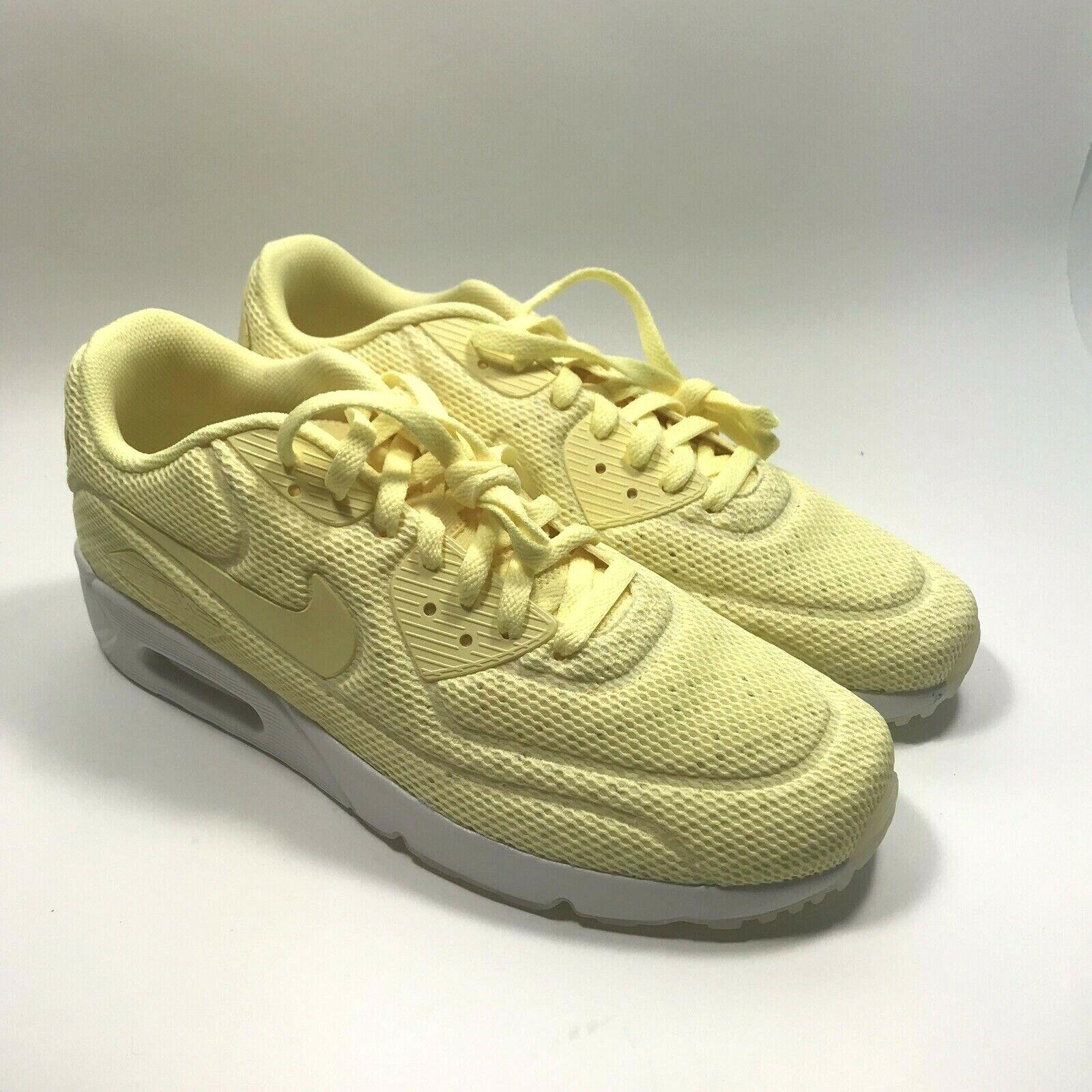 7d63397d4a Nike Air Max 90 Ultra 2.0 BR Lemon Chiffon 898010-700 Mens Size 9 ...