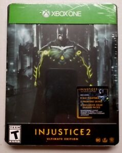 Injustice-2-Ultimate-Edition-Xbox-One-Steelbox-Brand-New-Sealed-Video-Game