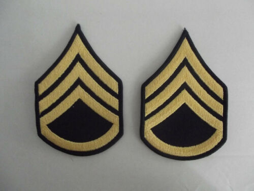 US Rangabzeichen Staff Sergeant E-6 Blue Dress Männer BB
