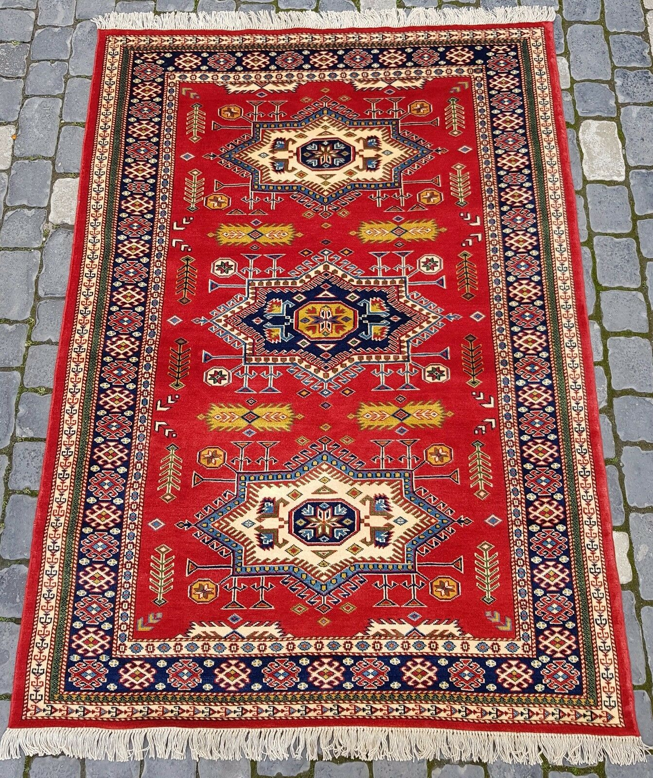 4'x6' New Rug Carpet Handmade Wool Hand Knotted Traditional Old Antique Oriental