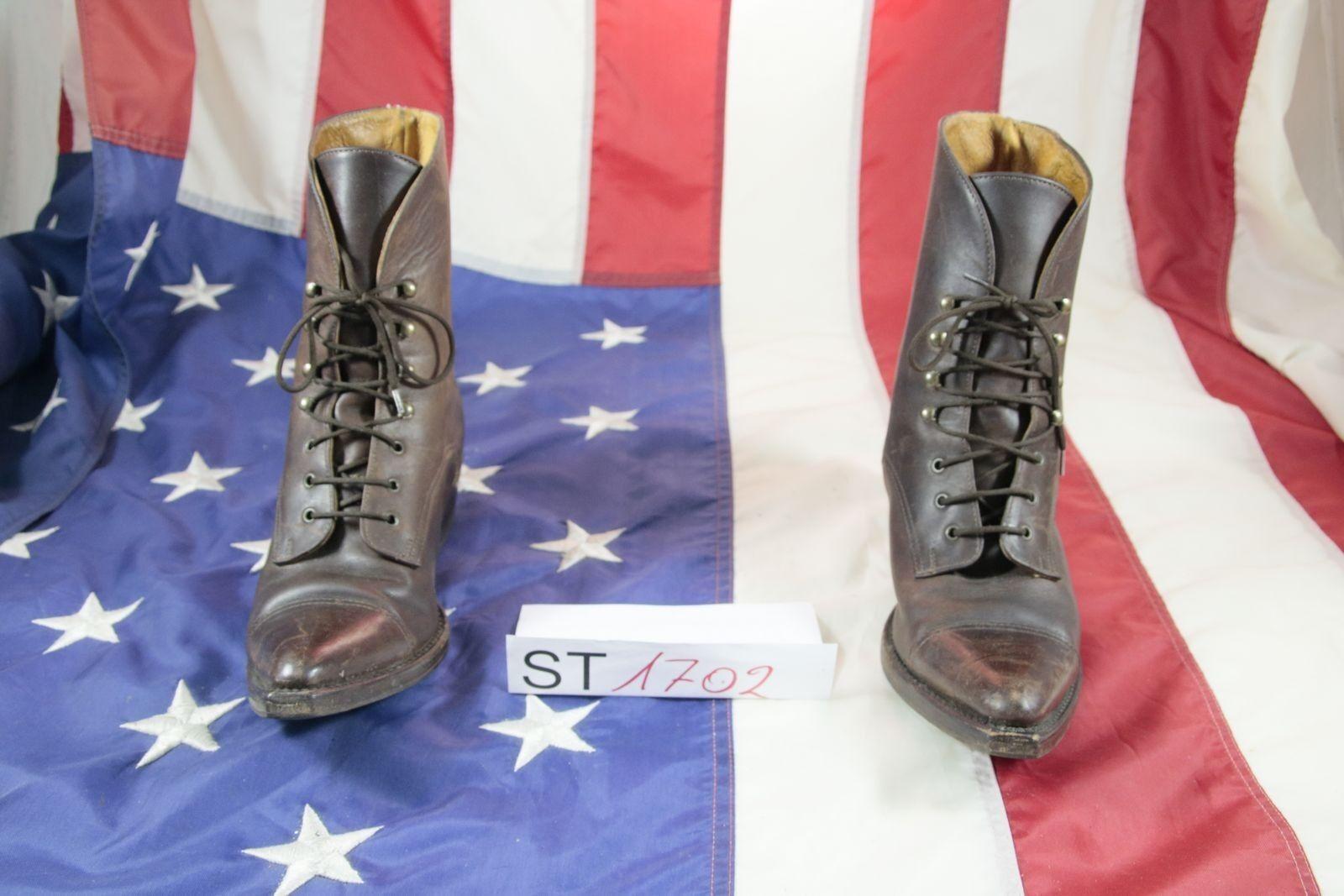Stiefel Sonora Can CanCod.ST1702usato N.38 braunes Leder Frau Cowboy Cowboy Cowboy Original 4259a2