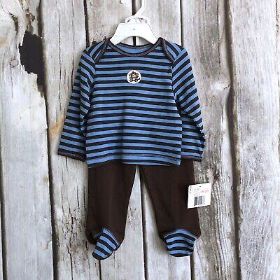 3 Months Blue Banana Baby Boys Harem Pants Navy Stripe