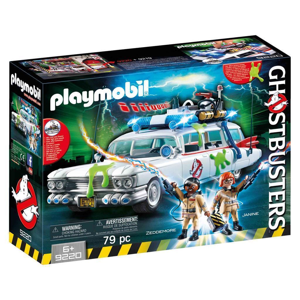 Playmobil 9220 Ghostautobusters Ecto-1   con Luce e Suono   shopping online e negozio di moda