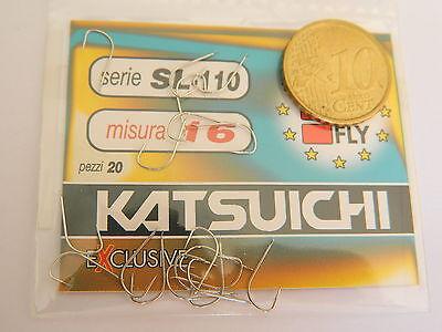 16 X 20 AMI   NE15 1 CONFEZIONE DI AMI FLY KATSUICHI MD IN JAPAN SER.L-110 MIS