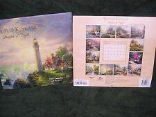 4  Thomas Kinkade Painter 2007 Collectible Wall Calendar Scripture DIY NIP