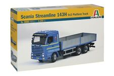 Italeri Model kit #3881 1/24 Scania Streamline 143H 6x2 Platform Truck