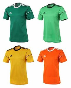 b7be602c8d Adidas Squadra 17 S S Jersey BJ9177 T-Shirts Training Top Soccer ...