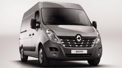 No Towbar Renault Master III 2.3 Black Texture Rear Bumper No Sensor Holes