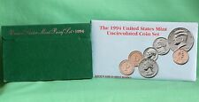 1994 Proof and Uncirculated Annual US Mint Coin Sets PDS 15 Coins