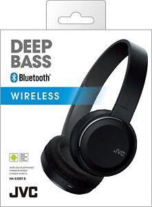 NEW-JVC-Deep-Bass-Bluetooth-Wireless-Headphones-HA-S30BT-B-17hr-battery-life