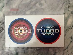 As-New-Comme-Neuf-autocollant-sticker-CX-500-HONDA