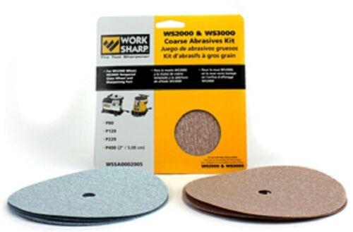 Work Sharp WSSA0002005 Coarse Abrasive Kit