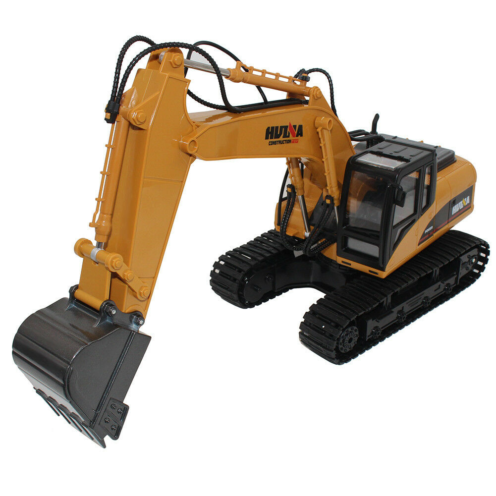 Professional 2.4G 15 Channel Full Functional RC Excavator Remote Control Toy