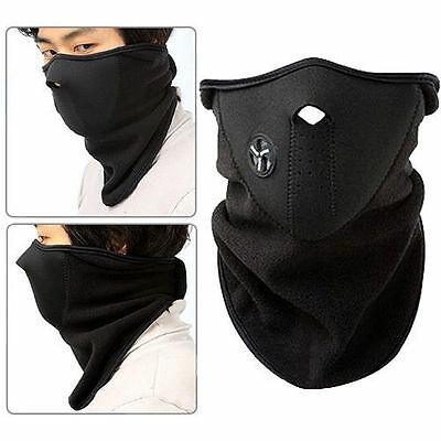 Ski Face Mask for Snowboard Bike Motorcycling Paintballing Neck Heat Warmer New