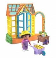 Dora The Explorer Talking Greenhouse Doll House