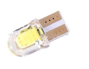 2x-Bombillas-LED-T10-COB-CANBUS-CRISTA-W5W-Bombilla-Posicion-Matricur-luz-blanco
