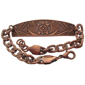 Solid-Copper-Bracelet-Turtle-Southwest-Handmade-Western-Jewelry-Arthritis-Relief