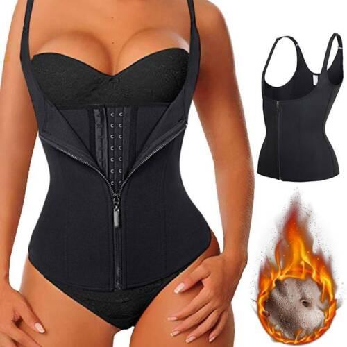 Women Sauna Suit Sweat Vests Tank Top Neoprene Slim Body Shaper Waist Trainer US