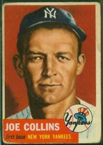 1953-Topps-Card-009-Joe-Collins-New-York-Yankees