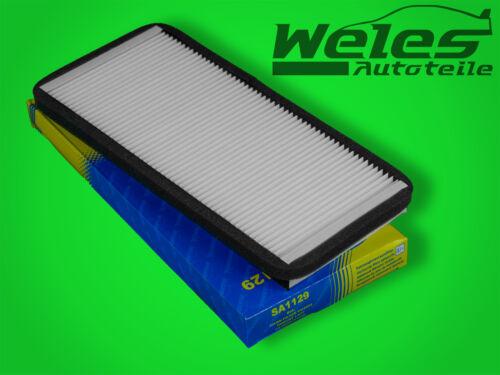 P1129 espacio interior filtro filtro de polen ford courier fiesta IV 4 ka 1,3 1,6 Puma