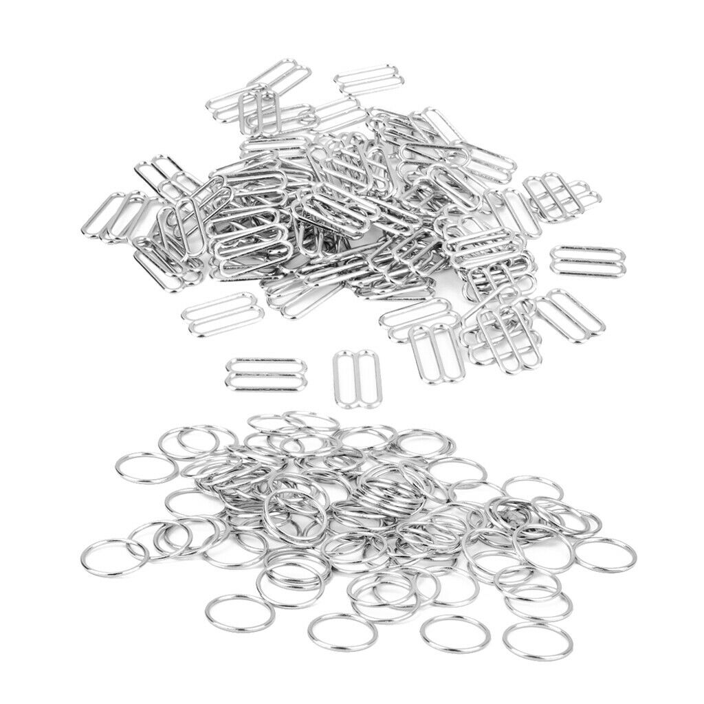 20 St/ück//Packung Goldlegierung BH-Ringe und Schieberegler Riemenversteller Schnallen Taschen Dekoration Unterw/äsche Einstellung N/ähwerkzeuge Style1-1cm