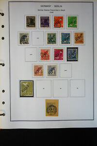Germany-Berlin-Pristine-Stamp-Variety-Collection