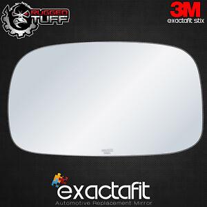 Automotive Flat Driver Side Mirror Replacement Glass for 2000-2001 LEXUS ES300