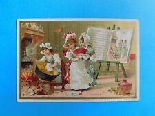 Chromo Au Bon Marché. CENDRILLON - imprimerie Minot. Format 11 x 7,5 cm