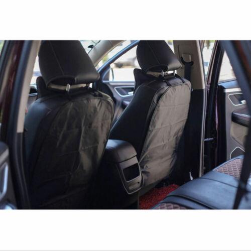2XCar Seat Back Cover Case Waterproof Easy Clean Anti Kick Mats Car Seatback