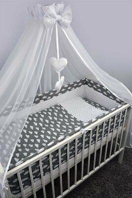 Haben Sie Einen Fragenden Verstand Bettset Baby 8-9 Tlg Bettwäsche Nestchen Minky 120x60 Wolken