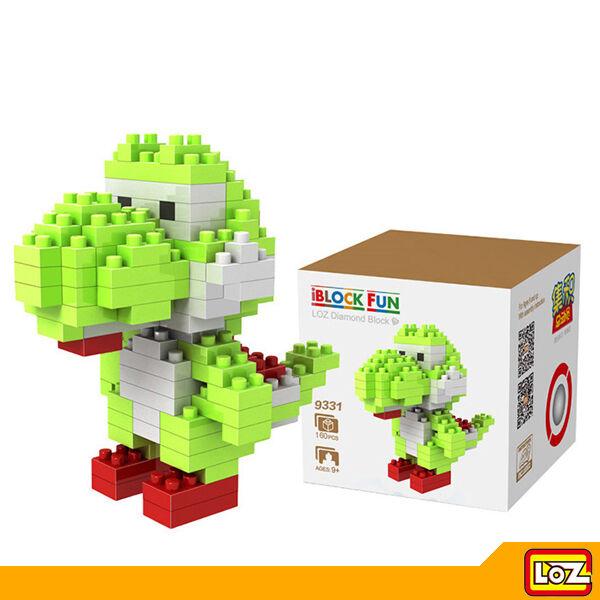LOZ - Juguete de Construcción Bloques Diamante - Yoshi Mario Bros 130 pzs M-9331