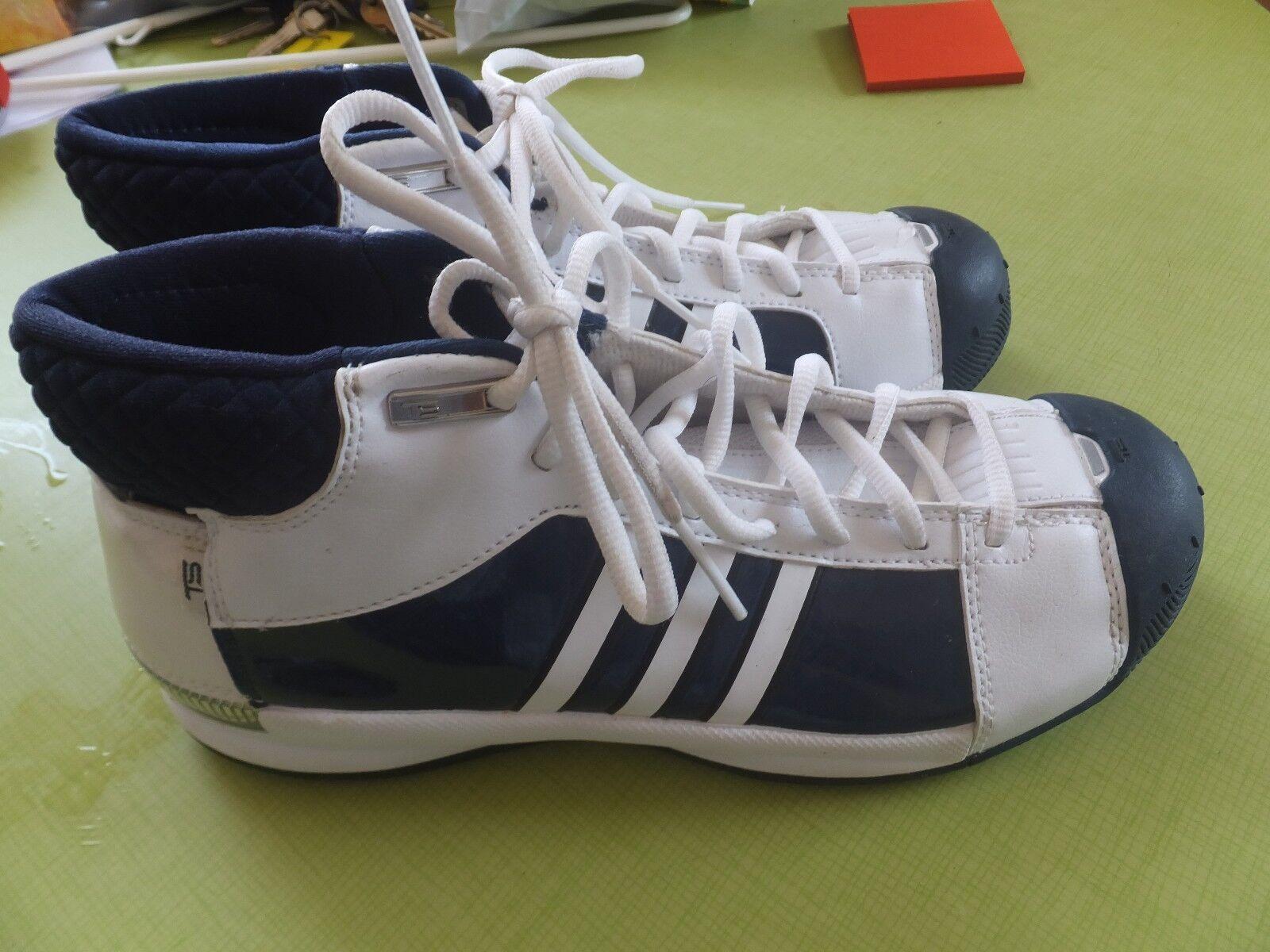 adidas t5 schuhe, zustand, makellosem zustand, 9.5m makellosem zustand, schuhe, navy und weiß ca1834