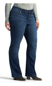 95c66b0b Women's Lee Modern Fit Straight Leg Curvy Adrian Plus Size Jeans 24W ...