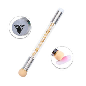 Dual-ended-BORN-PRETTY-Nail-Art-Stamper-Sponge-Head-Blooming-Brush-Pen