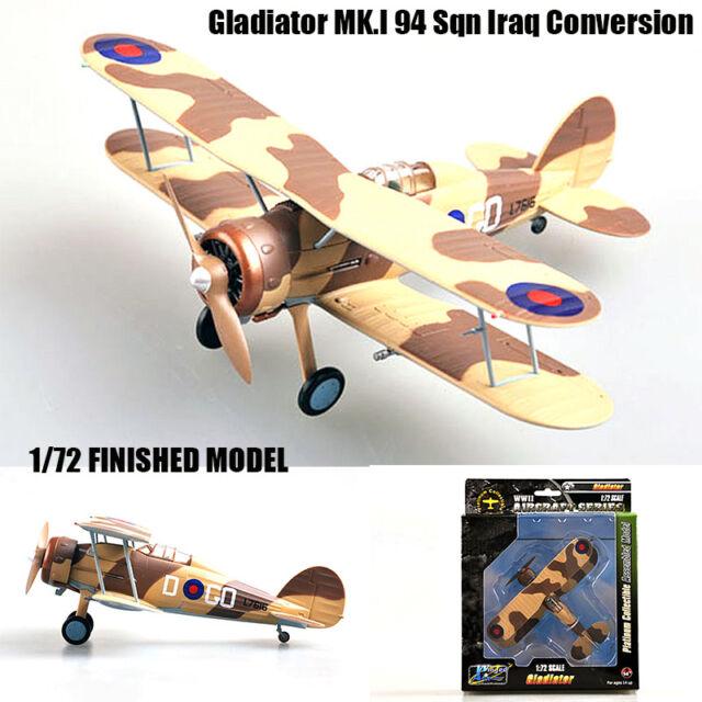 RAF Go-D l7616 irak Conversion Flight Easy Model 36456 gladiador mk.i94 Sqn en