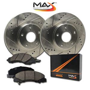 Front-Rotors-w-Ceramic-Pads-Premium-Brakes-Fits-Legacy-Impreza-Forester