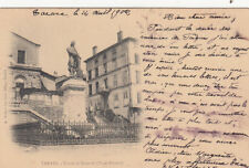 TARARE statue de simonet timbrée 1902
