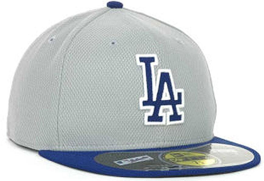 New Era MLB Angeles Los Angeles MLB Dodgers Diamond Softmesh Fitted Basecap Cap 1bd46a