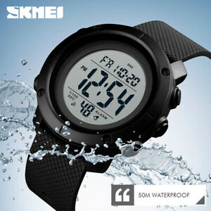 SKMEI-Watch-Waterproof-Men-Sport-Watches-LED-Digital-Outdoor-Military-Wristwatch