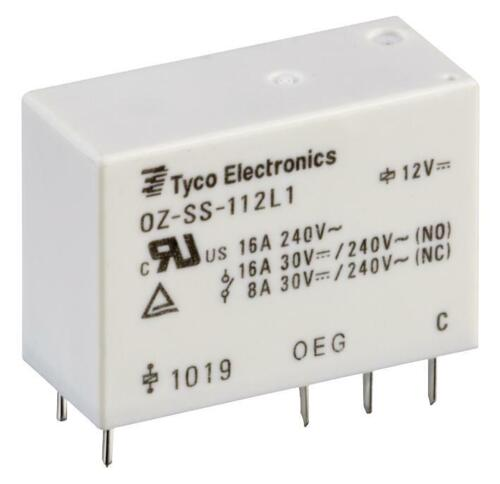 16A OZ-SS-148LM1,200 By TE CONNECTIVITY // OEG 30VDC SPST-NO 1 X RELAY 240VAC