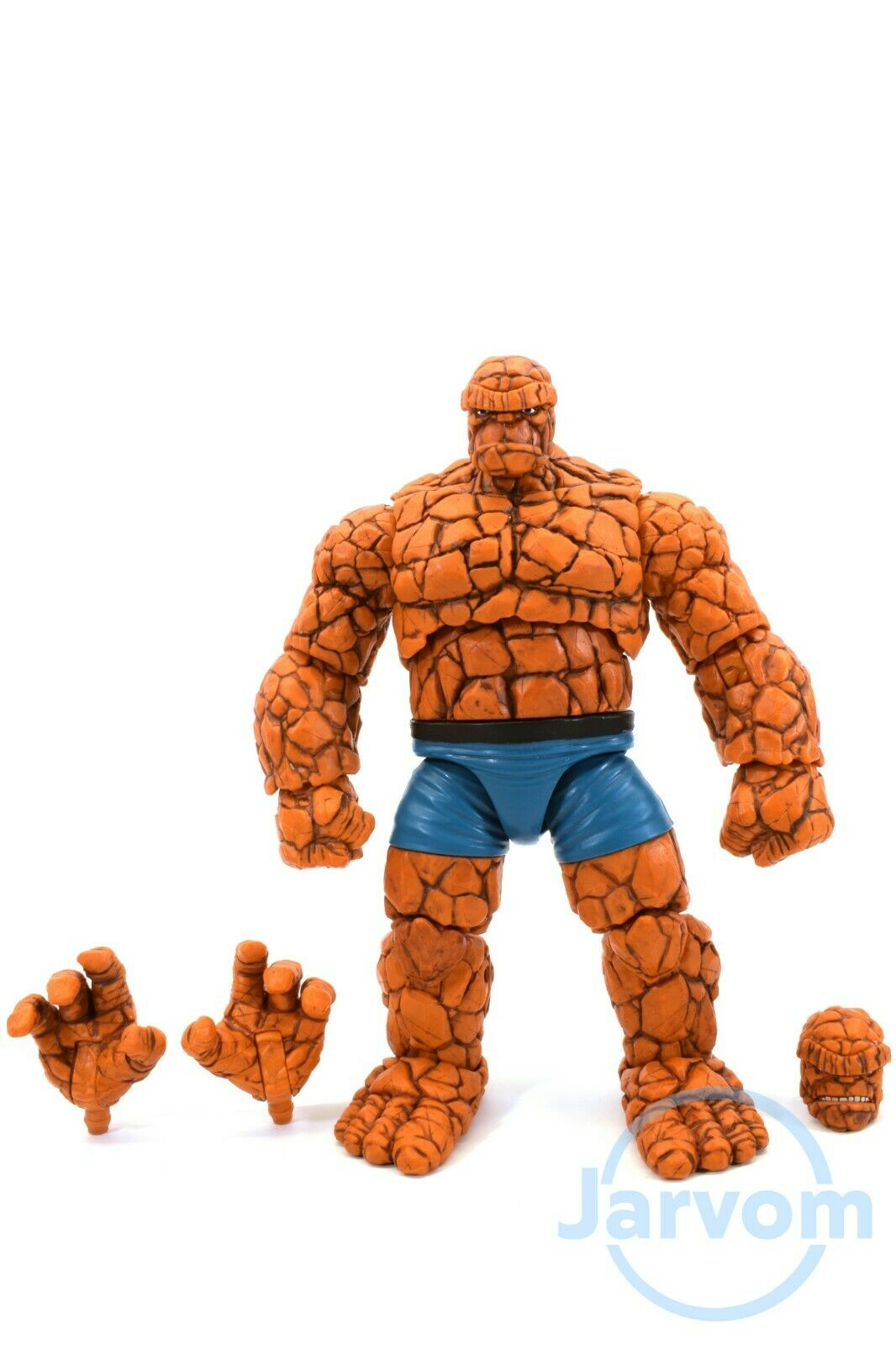 Marvel Legends 6  Inch Walgreens Fantastic Four 4 Thing Loose Complete