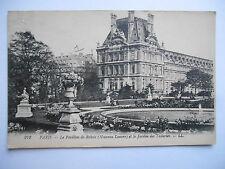 """CPA """"Paris - Le pavillon de Rohan (Nouveau Louvre) et le jardin des Tuileries"""""""
