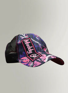 6235fe9ca Muddy Girl Camo Pink & Purple Mesh Back Baseball Hat Cap - Women's ...