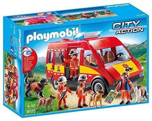 Playmobil 9125 - Rettungshundestaffel K-9 Einheit  | Überlegene Qualität